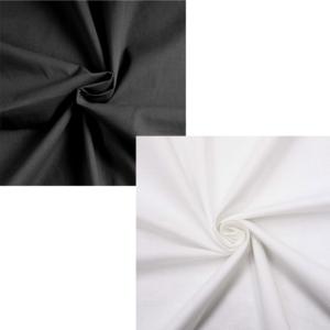 Ткань Бязь ГОСТ (142±10 гр./кв.м.) черная, отбеленная, 100% хл., 150 см.